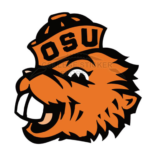 Personal Oregon State Beavers Iron-on Transfers (Wall Stickers)NO.5814