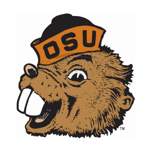 Personal Oregon State Beavers Iron-on Transfers (Wall Stickers)NO.5815