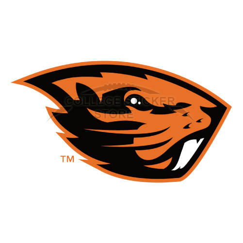 Personal Oregon State Beavers Iron-on Transfers (Wall Stickers)NO.5819