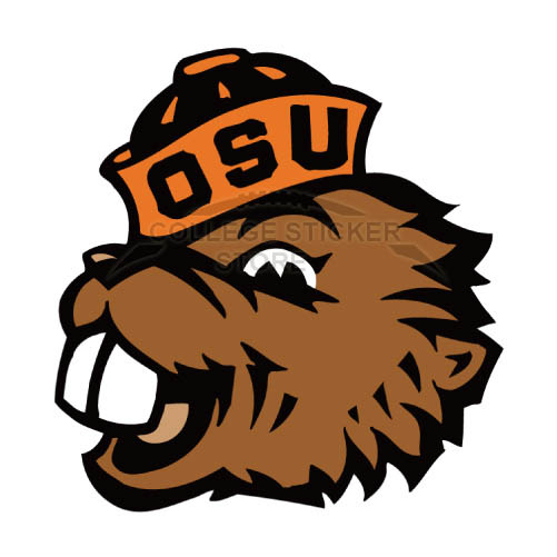 Personal Oregon State Beavers Iron-on Transfers (Wall Stickers)NO.5820