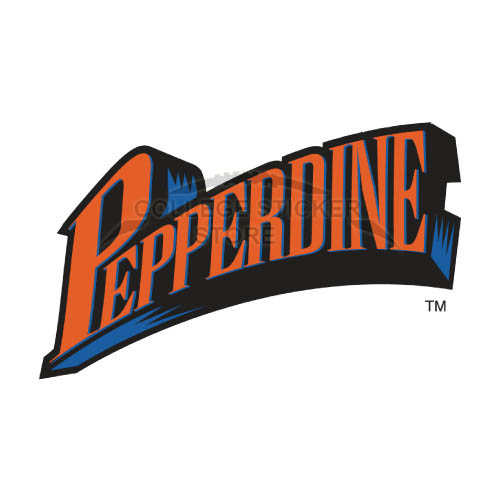 Personal Pepperdine Waves Iron-on Transfers (Wall Stickers)NO.5884