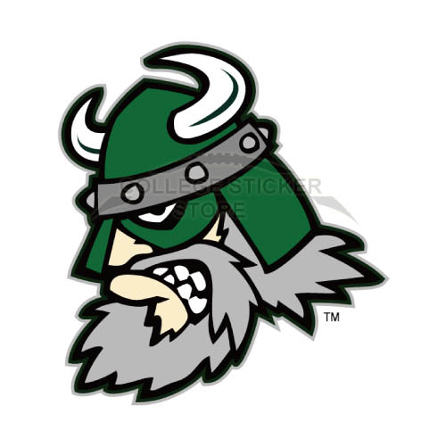Homemade Portland State Vikings Iron-on Transfers (Wall Stickers)NO.5915