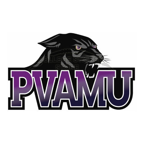 Homemade Prairie View A M Panthers Iron-on Transfers (Wall Stickers)NO.5919