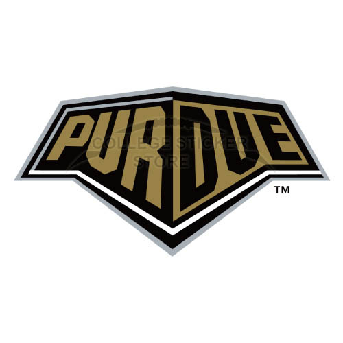 Homemade Purdue Boilermakers Iron-on Transfers (Wall Stickers)NO.5944