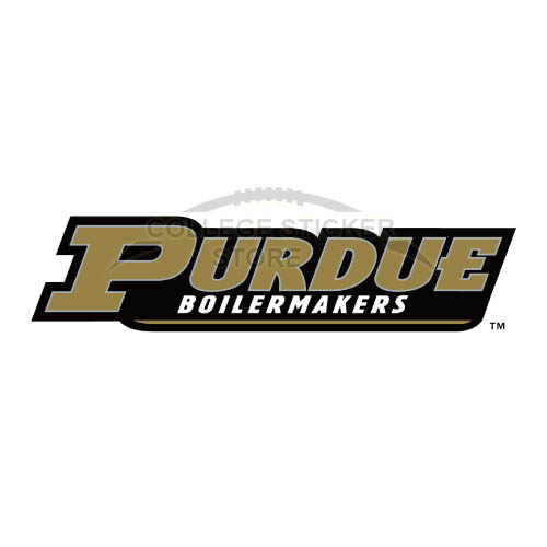 Homemade Purdue Boilermakers Iron-on Transfers (Wall Stickers)NO.5946