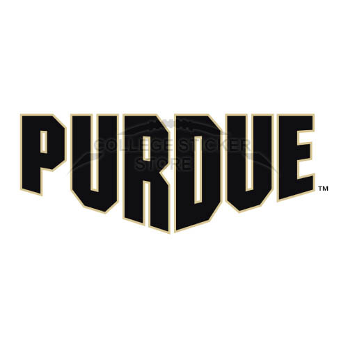 Homemade Purdue Boilermakers Iron-on Transfers (Wall Stickers)NO.5947