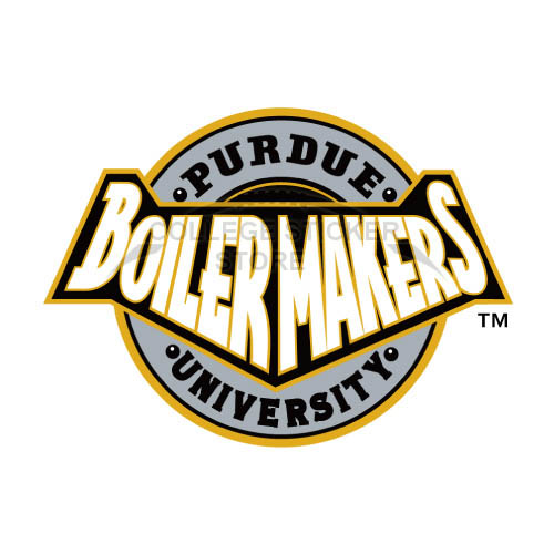 Homemade Purdue Boilermakers Iron-on Transfers (Wall Stickers)NO.5949
