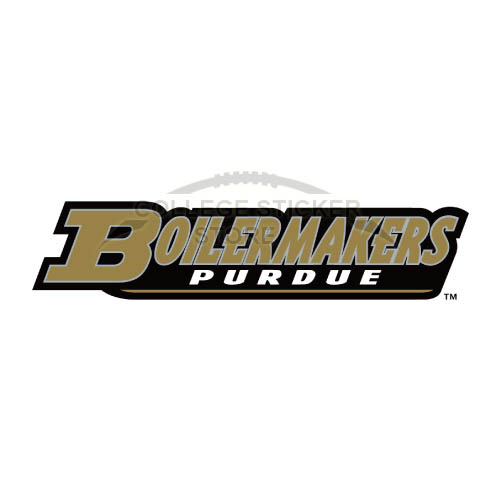Homemade Purdue Boilermakers Iron-on Transfers (Wall Stickers)NO.5950
