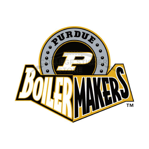 Homemade Purdue Boilermakers Iron-on Transfers (Wall Stickers)NO.5951