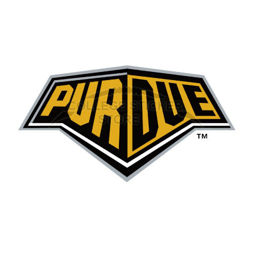Homemade Purdue Boilermakers Iron-on Transfers (Wall Stickers)NO.5954