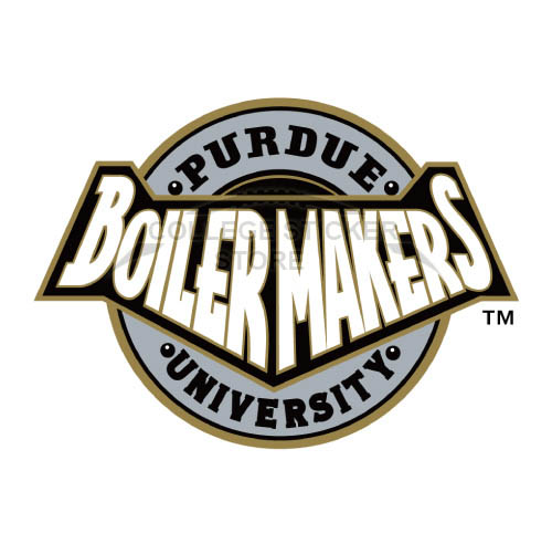 Homemade Purdue Boilermakers Iron-on Transfers (Wall Stickers)NO.5963