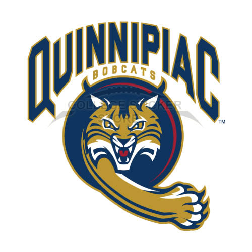 Homemade Quinnipiac Bobcats Iron-on Transfers (Wall Stickers)NO.5965