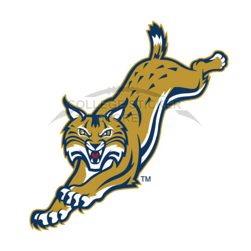 Homemade Quinnipiac Bobcats Iron-on Transfers (Wall Stickers)NO.5966