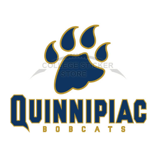 Homemade Quinnipiac Bobcats Iron-on Transfers (Wall Stickers)NO.5967