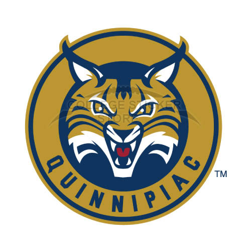 Homemade Quinnipiac Bobcats Iron-on Transfers (Wall Stickers)NO.5969
