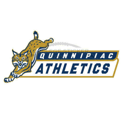 Homemade Quinnipiac Bobcats Iron-on Transfers (Wall Stickers)NO.5971