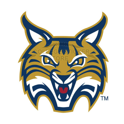 Homemade Quinnipiac Bobcats Iron-on Transfers (Wall Stickers)NO.5973