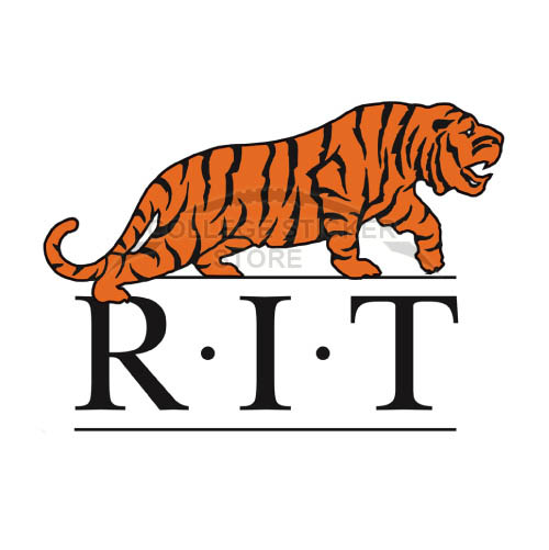 Homemade RIT Tigers Iron-on Transfers (Wall Stickers)NO.6010