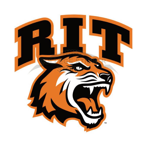 Homemade RIT Tigers Iron-on Transfers (Wall Stickers)NO.6012