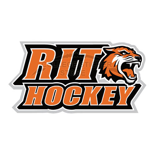 Homemade RIT Tigers Iron-on Transfers (Wall Stickers)NO.6019