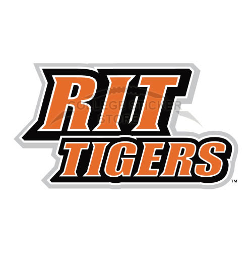 Homemade RIT Tigers Iron-on Transfers (Wall Stickers)NO.6021