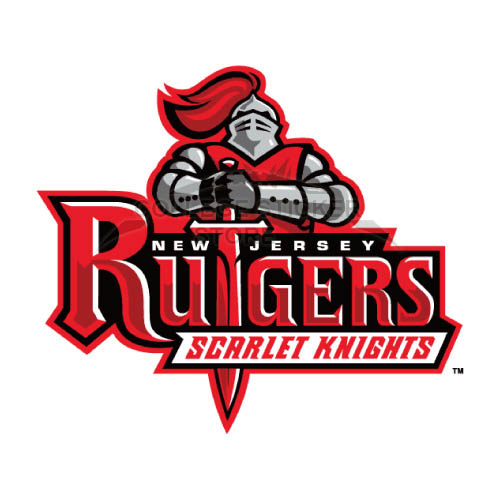Homemade Rutgers Scarlet Knights Iron-on Transfers (Wall Stickers)NO.6034