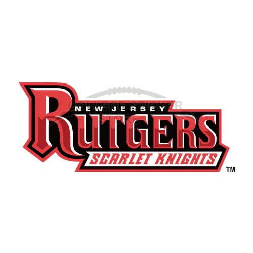 Homemade Rutgers Scarlet Knights Iron-on Transfers (Wall Stickers)NO.6040