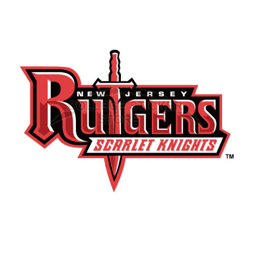 Homemade Rutgers Scarlet Knights Iron-on Transfers (Wall Stickers)NO.6042