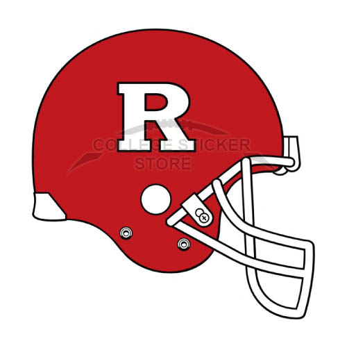 Homemade Rutgers Scarlet Knights Iron-on Transfers (Wall Stickers)NO.6047