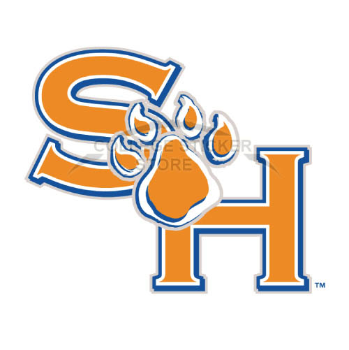 Homemade Sam Houston State Bearkats Iron-on Transfers (Wall Stickers)NO.6086