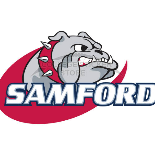 Homemade Samford Bulldogs Iron-on Transfers (Wall Stickers)NO.6089