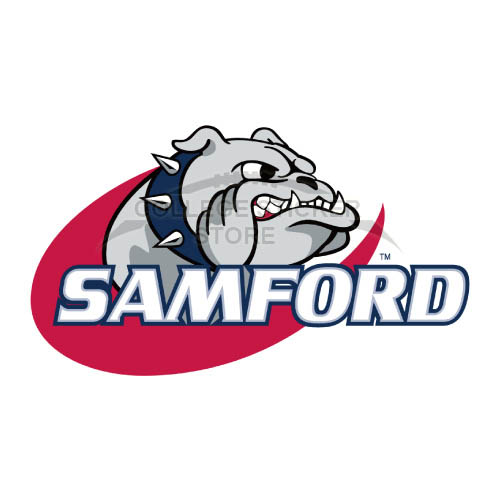 Homemade Samford Bulldogs Iron-on Transfers (Wall Stickers)NO.6090