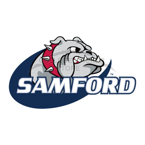 Homemade Samford Bulldogs Iron-on Transfers (Wall Stickers)NO.6092