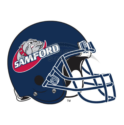 Homemade Samford Bulldogs Iron-on Transfers (Wall Stickers)NO.6094