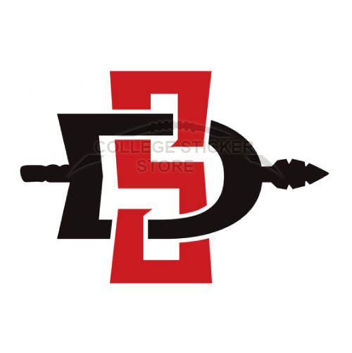 Homemade San Diego State Aztecs Iron-on Transfers (Wall Stickers)NO.6106