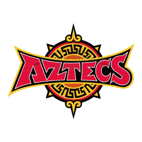 Homemade San Diego State Aztecs Iron-on Transfers (Wall Stickers)NO.6107