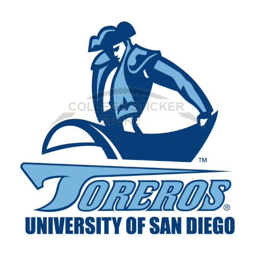 Homemade San Diego Toreros Iron-on Transfers (Wall Stickers)NO.6120