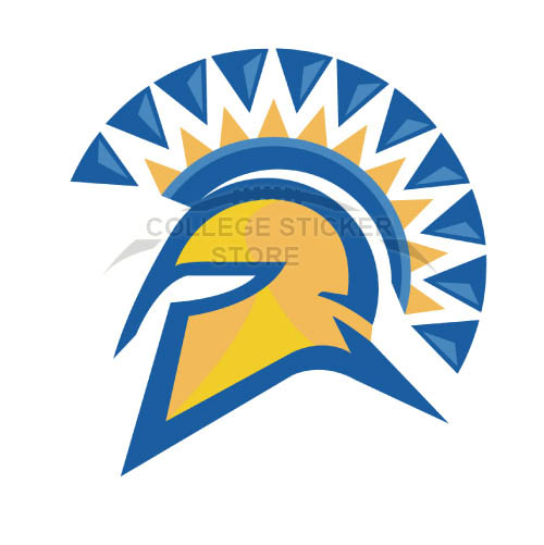 Homemade San Jose State Spartans Iron-on Transfers (Wall Stickers)NO.6132
