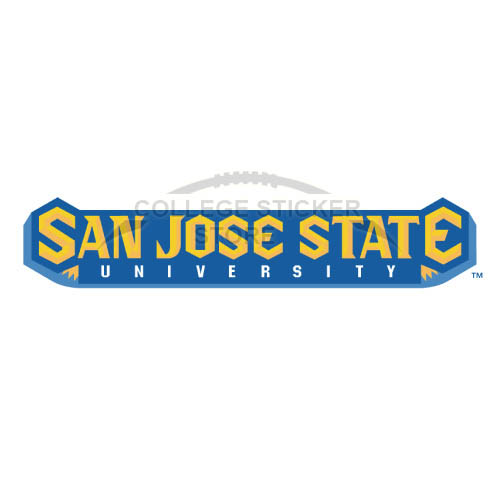 Homemade San Jose State Spartans Iron-on Transfers (Wall Stickers)NO.6133