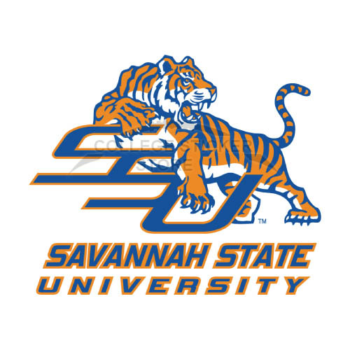 Homemade Savannah State Tigers Iron-on Transfers (Wall Stickers)NO.6140