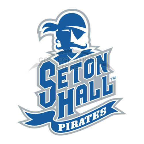 Homemade Seton Hall Pirates Iron-on Transfers (Wall Stickers)NO.6164