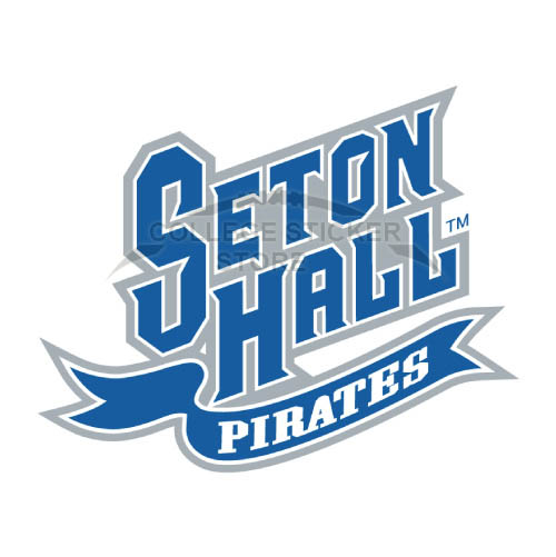 Homemade Seton Hall Pirates Iron-on Transfers (Wall Stickers)NO.6166
