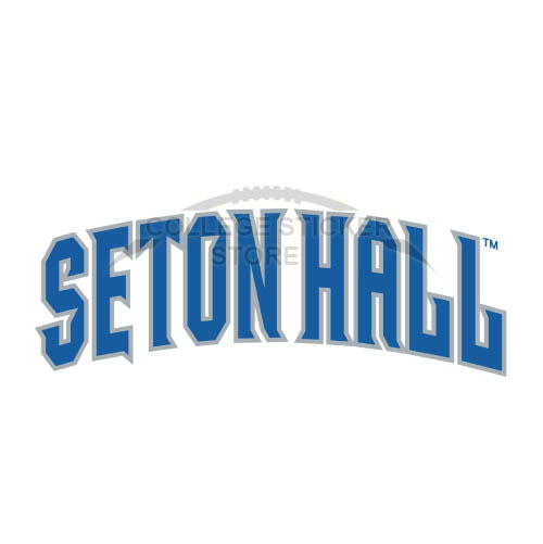 Homemade Seton Hall Pirates Iron-on Transfers (Wall Stickers)NO.6168