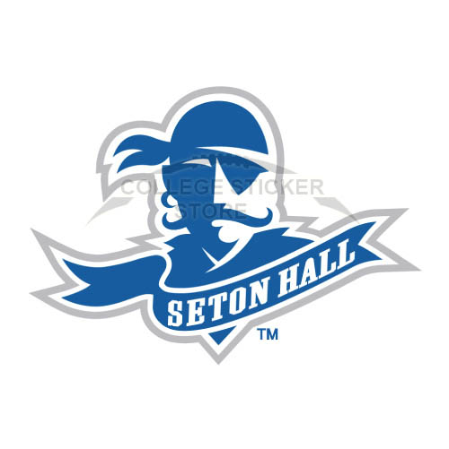Homemade Seton Hall Pirates Iron-on Transfers (Wall Stickers)NO.6169