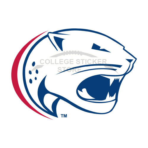 Homemade South Alabama Jaguars Iron-on Transfers (Wall Stickers)NO.6183