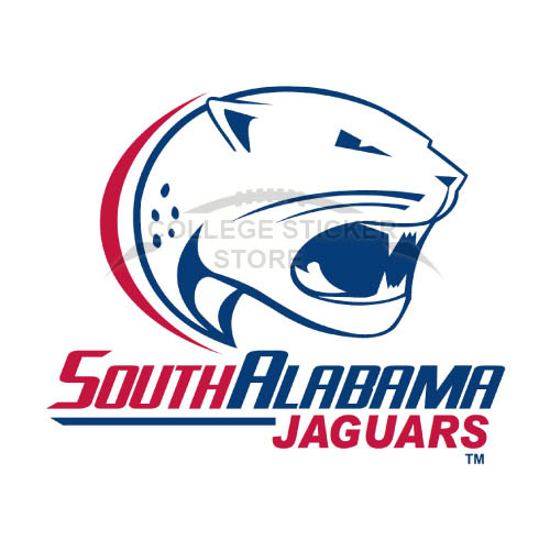 Homemade South Alabama Jaguars Iron-on Transfers (Wall Stickers)NO.6185