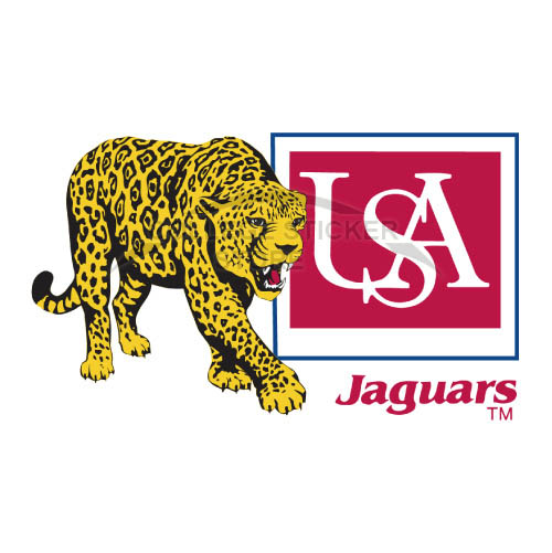 Homemade South Alabama Jaguars Iron-on Transfers (Wall Stickers)NO.6187