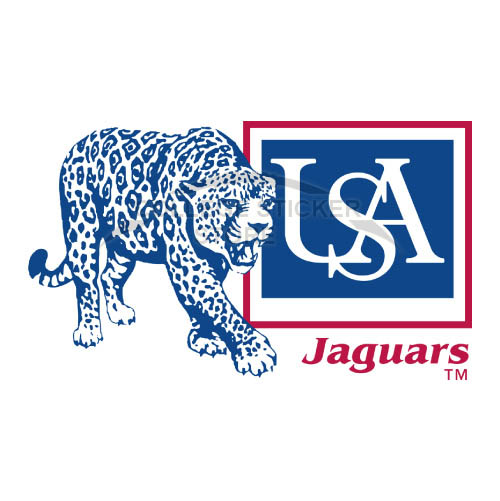 Homemade South Alabama Jaguars Iron-on Transfers (Wall Stickers)NO.6190