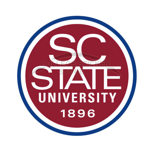 Homemade South Carolina State Bulldogs Iron-on Transfers (Wall Stickers)NO.6203