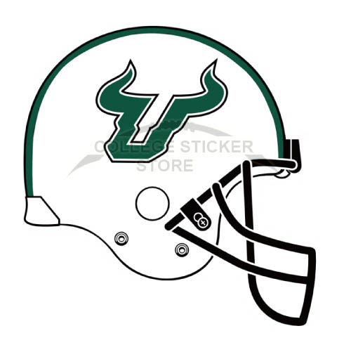 Homemade South Florida Bulls Iron-on Transfers (Wall Stickers)NO.6244